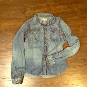 Juicy Couture Jean Button-up Shirt